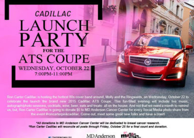 2015 Cadillac ATS Coupe Launch Party