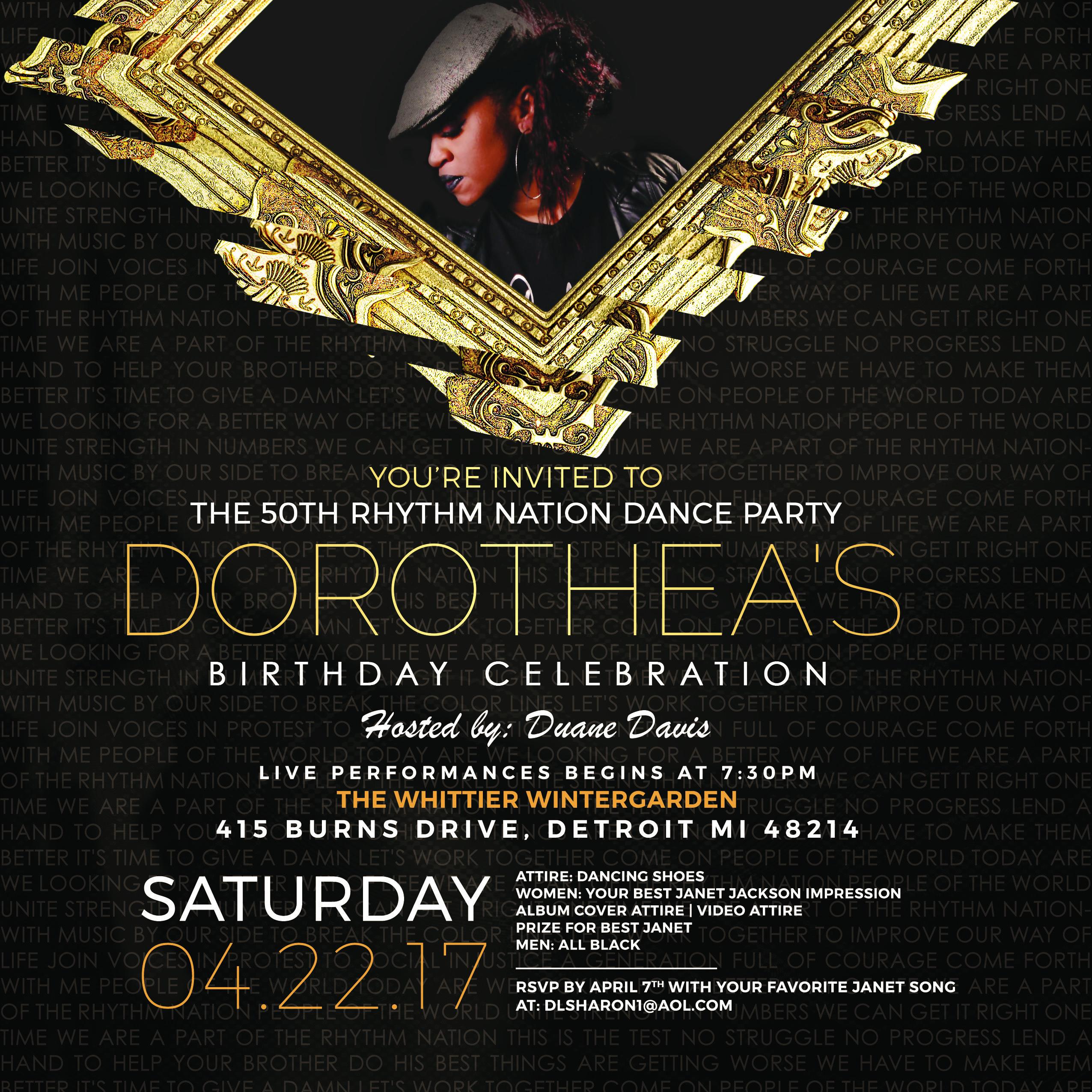DS50 Birthday Celebration